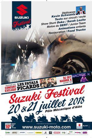 SUZUKI FESTIVAL - PASS 2 JOURS à Saint Martin de Valgalgues @ POLE MECANIQUE D'ALES (30) - Billets & Places