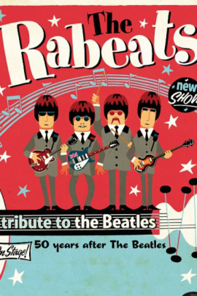 THE RABEATS + ORCHESTRE - TRIBUTE BEATLES @ Le Cirque Jules Verne - Amiens