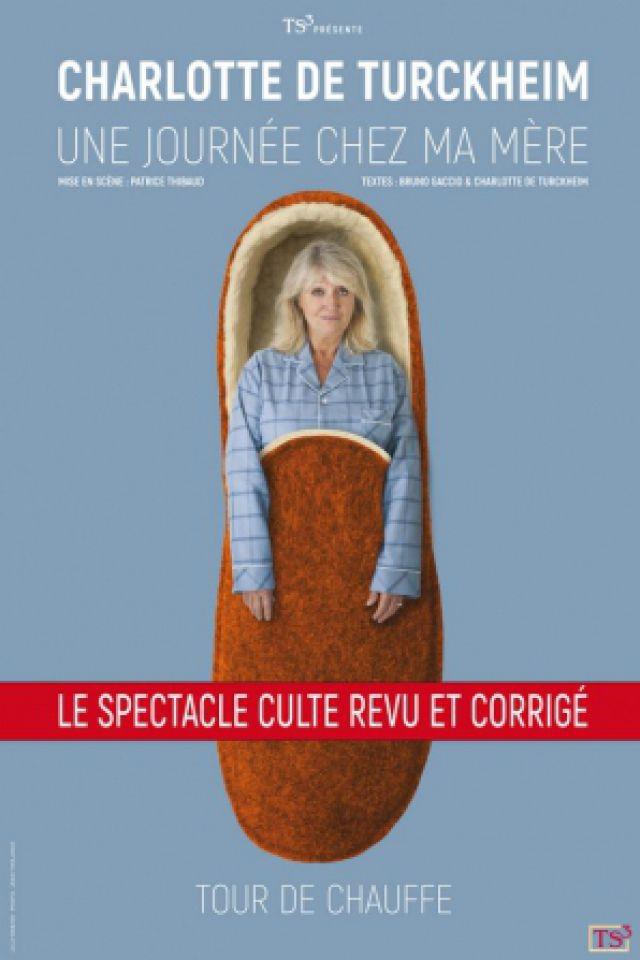 Spectacle CHARLOTTE DE TURCKHEIM à LA CIOTAT @ La Chaudronnerie - Salle Michel Simon - Billets & Places