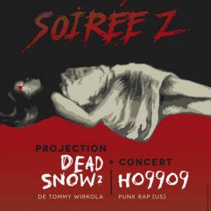 SERIE Z ! FILM DEAD SNOW 2 de T. Wirkola + Ho99o9 @ LA SIRENE  - LA ROCHELLE