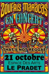 Concert ZOUFRIS MARACAS + THAT'S NOT REGGAE