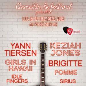 ACOUSTIC FESTIVAL - YANN TIERSEN @ SALLE DE L'IDONNIERE - LE POIRÉ SUR VIE