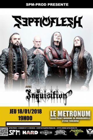 Concert Septicflesh + Inquisition