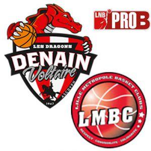 PRO B - VOLTAIRE VS LILLE @ Complexe Sportif Jean Degros - DENAIN