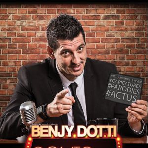 Benjy Dotti - The Comic Late Show