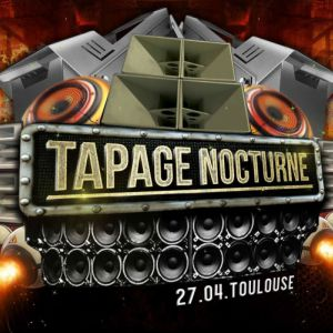 Tapage Nocturne special Vandal & friends @ LE BIKINI - RAMONVILLE