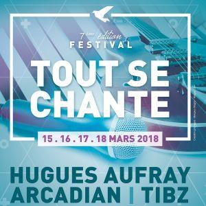 FESTIVAL TOUT SE CHANTE - HUGUES AUFRAY @ Espace Claude Michel de Guipry-Messac - MESSAC