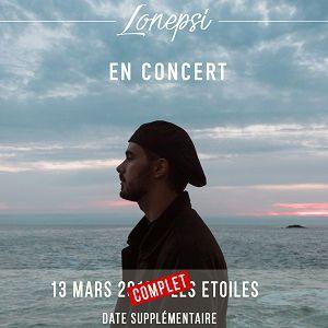 LONEPSI @ La Maroquinerie - PARIS