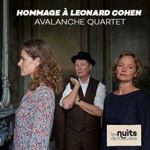 Hommage A Leonard Cohen - Avalanche Quartet