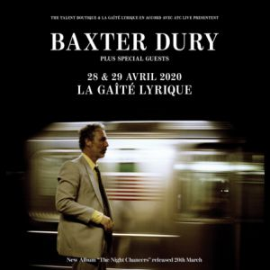 Baxter Dury Plus Special Guests