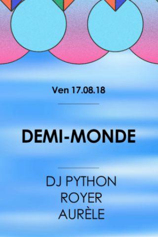 Billets  Demi-Monde • Good Music For Good People - La Machine du Moulin Rouge