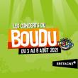 Festival LES CONCERTS DU BOUDU - Jeudi 5 août 2021 à CROZON @ PRAIRIE DE LANDAOUDEC  - Billets & Places