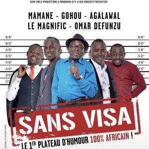 Sans Visa - 1Er Plateau D'humour 100% Africain