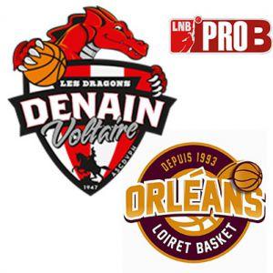 PRO B - VOLTAIRE vs ORLEANS @ Complexe Sportif Jean Degros - DENAIN