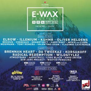 E-Wax Festival - Pass Ga Vendredi
