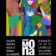 Soirée MONA w/ GILB'R, RAFIKI, RENO, NICK V, DJ ANDRE à Paris @ La Bellevilloise - Billets & Places
