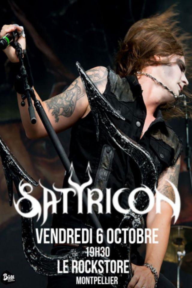 SATYRICON @ Le Rockstore - Montpellier