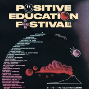 POSITIVE EDUCATION - PASS 3 JOURS @ Quartier Manufacture - SAINT ETIENNE