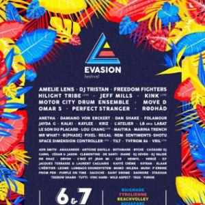 EVASION FESTIVAL - VENDREDI @ Plage de l'Atol - VAULX EN VELIN