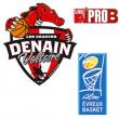 Match PRO B - ASC DENAIN VOLTAIRE PH / EVREUX