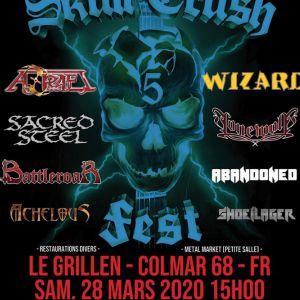Skull Crush 5 : Wizard + Lonewolf + 6 Groupes