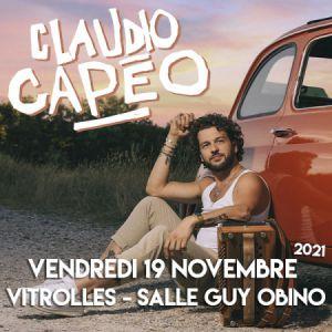Claudio Capeo + Première Partie