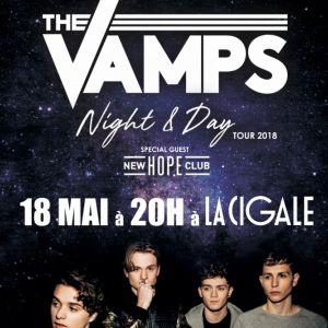 THE VAMPS @ La Cigale - Paris