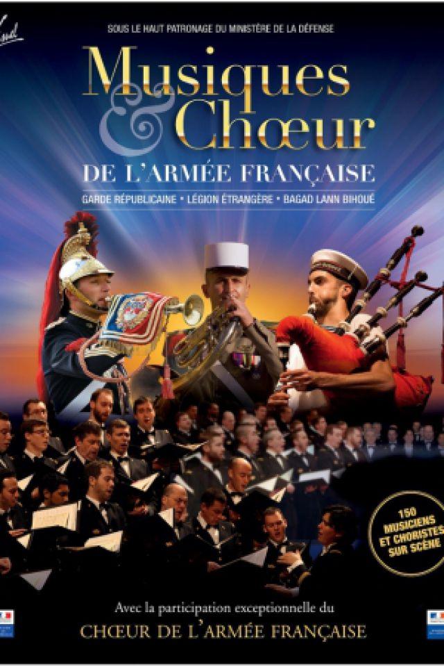 MUSIQUES ET CHŒUR DE L'ARMEE FRANCAISE @ Zénith Arena  - LILLE