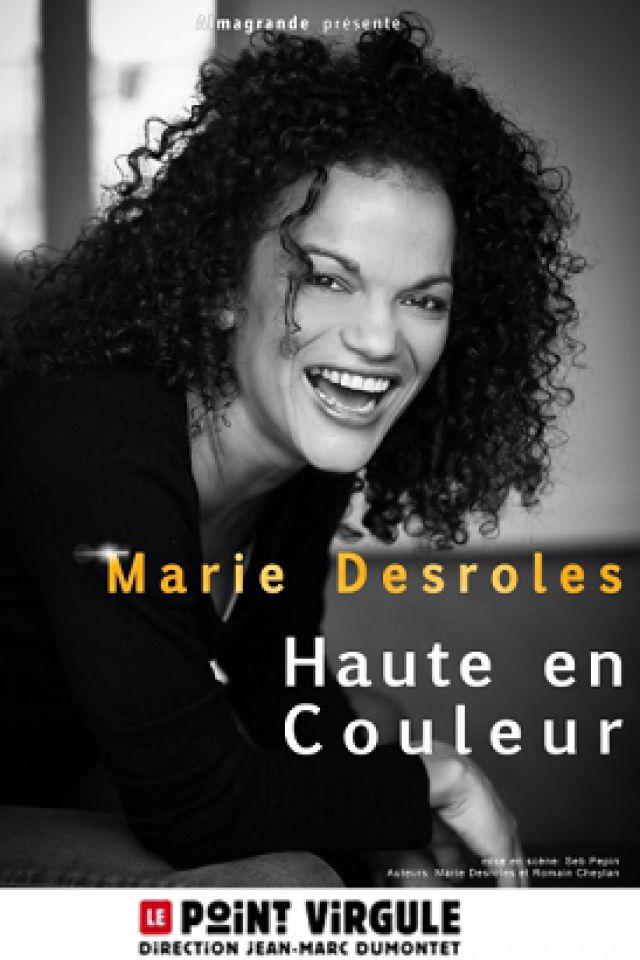 Marie Desroles @ Théâtre Le Point Virgule - PARIS