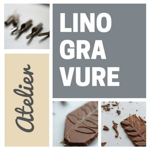 LINOGRAVURE (ATELIER) @ CITE DU CHAMPAGNE - AY