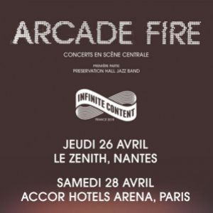 ARCADE FIRE @ ACCORHOTELS ARENA - PARIS 12