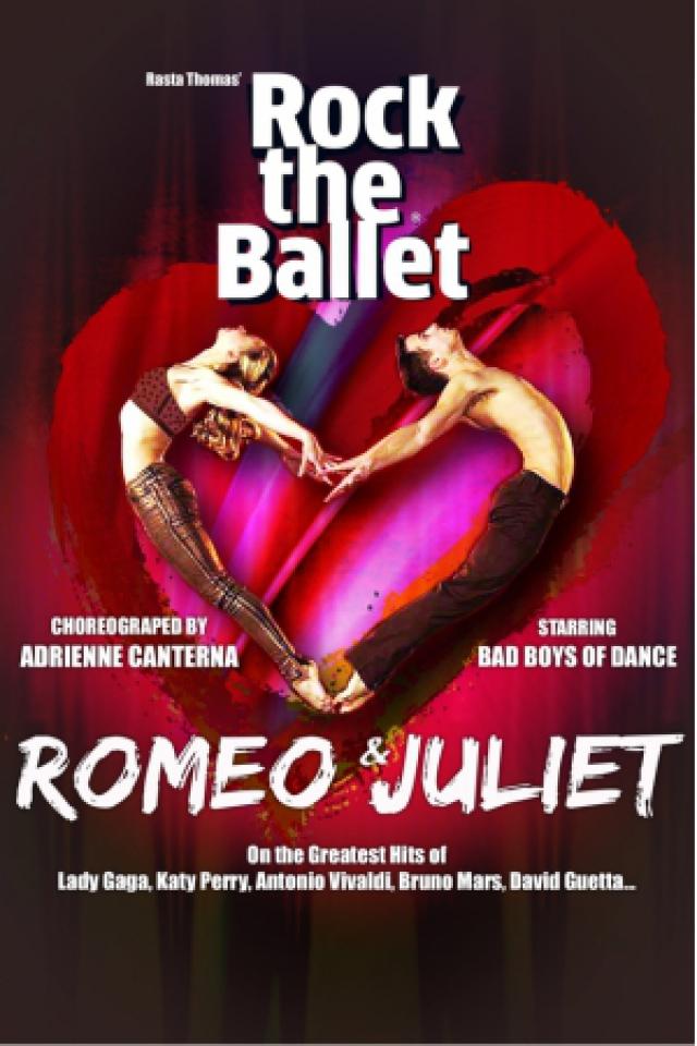 ROMEO & JULIET By ROCK THE BALLET @ Le Vinci - Auditorium François 1er - Tours