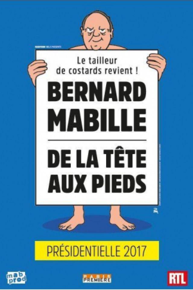 BERNARD MABILLE -  DE LA TÊTE AUX PIEDS @ Pasino de la Grande Motte - LA GRANDE MOTTE