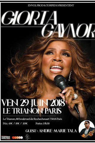 Concert GLORIA GAYNOR à Paris @ Le Trianon - Billets & Places
