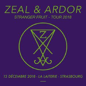 ZEAL & ARDOR   + Guest  @ La Laiterie - Grande Salle - Strasbourg