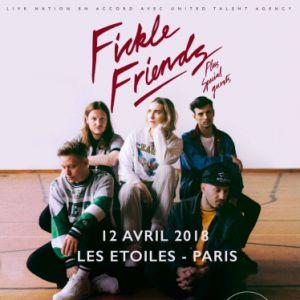 FICKLE FRIENDS @ THEATRE LES ETOILES - Paris