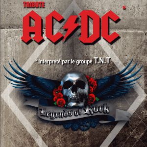 T.N.T TRIBUTE BAND AC/DC (LEGENDS OF ROCK) @ Atabal - BIARRITZ