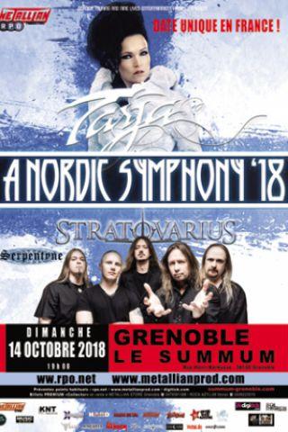 Concert TARJA / STRATOVARIUS à Grenoble @ SUMMUM - ALPEXPO - Billets & Places