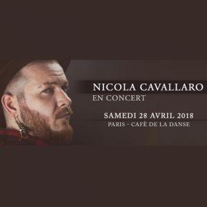 Nicola Cavallaro @ Café de la Danse - Paris