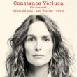 Concert CONSTANCE VERLUCA à Paris @ THEATRE LES ETOILES - Billets & Places