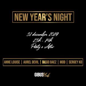 Gibus New Year's Eve 2020