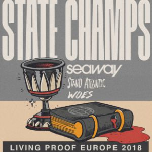 STATE CHAMPS + SEAWAY + STAND ATLANTIC + WOES @ La Machine du Moulin Rouge - Paris