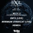 Soirée Exil 1st anniversary - W.LV.S / SNTS / Minimum Syndicat / Hemka
