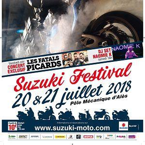SUZUKI FESTIVAL - PASS 2 JOURS @ POLE MECANIQUE D'ALES (30) - Saint Martin de Valgalgues