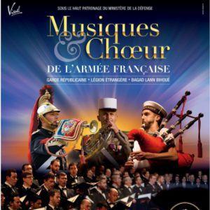 Musiques et Chœur de l'Armée française @ AMPHITHEATRE CITE INTERNATIONALE - LYON