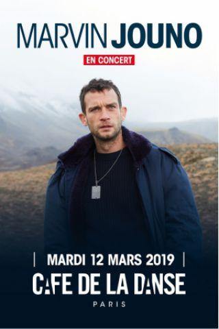 Concert MARVIN JOUNO à Paris @ Café de la Danse - Billets & Places