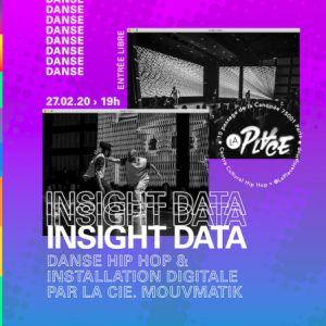 Insight Data : Danse Hip-Hop Et Installation Digitale