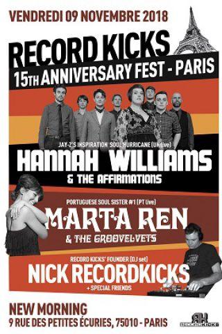 Concert MARTA REN & The GROOVELVETS (live) à Paris @ New Morning - Billets & Places