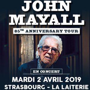 "John Mayall ""85Th Anniversary Tour 2019"""