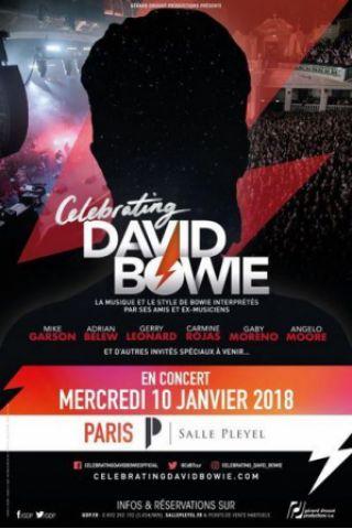 Concert CELEBRATING DAVID BOWIE
